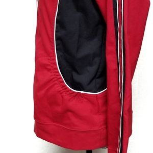 Saint John's Bay Active Jackets & Coats - Saint John's Bay Red Black Lightweight Jacket